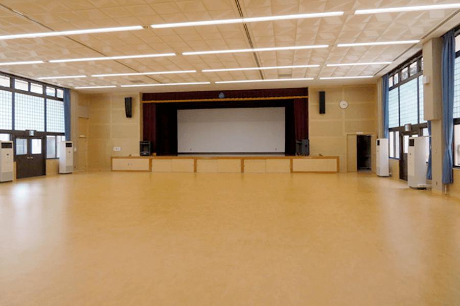 朝地公民館・ホール