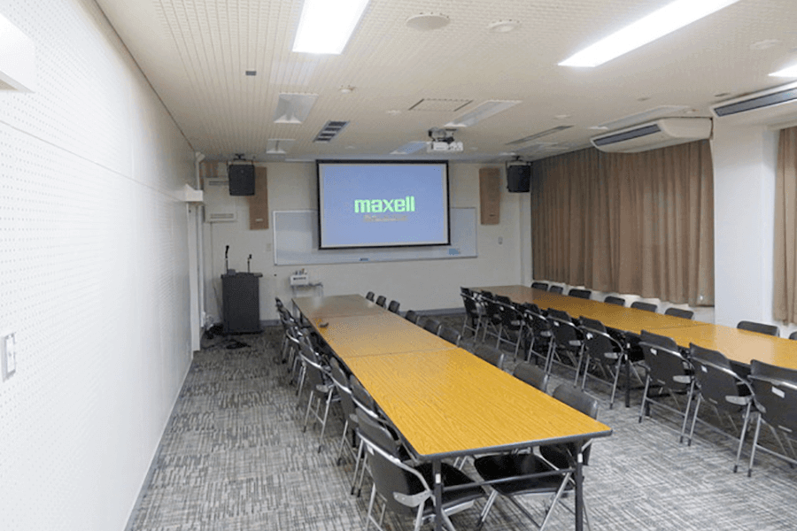 朝地公民館・視聴覚室