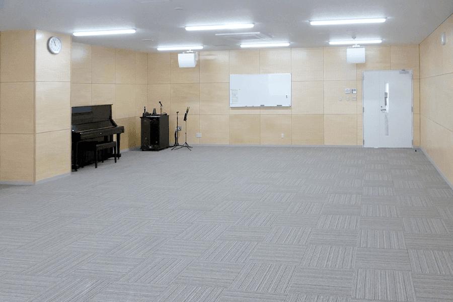 緒方公民館・音楽室