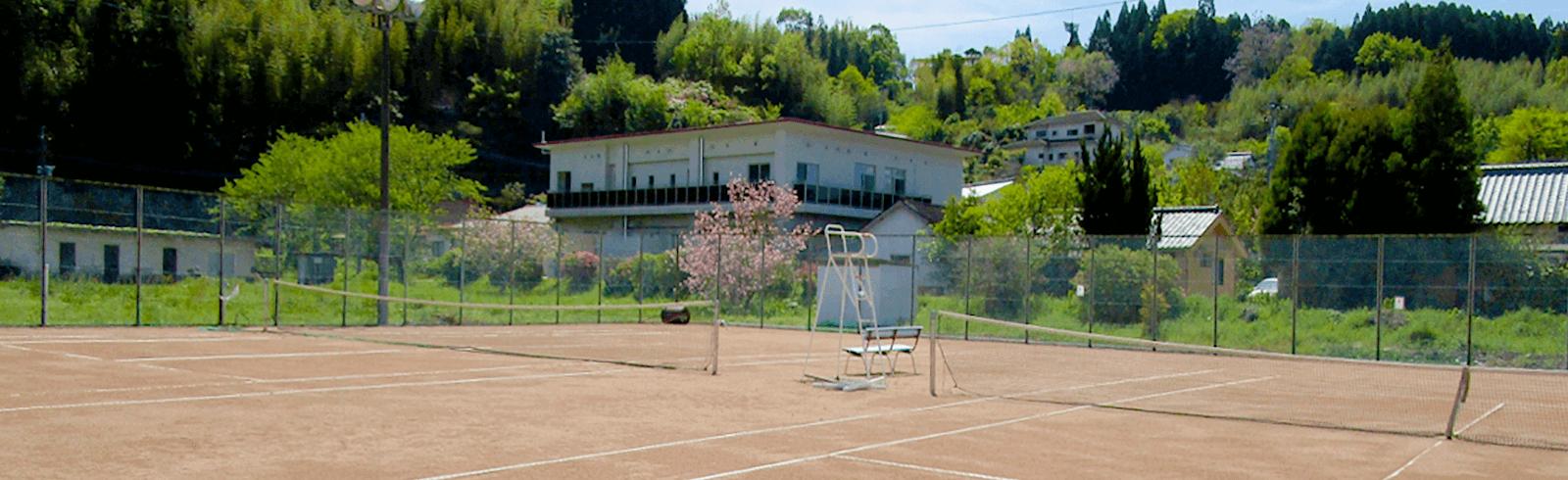 豊後大野市・千歳テニスコート