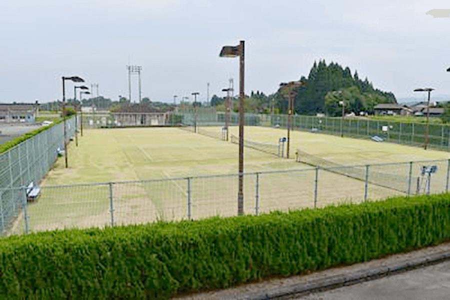 豊後大野市・緒方総合運動公園・テニスコート