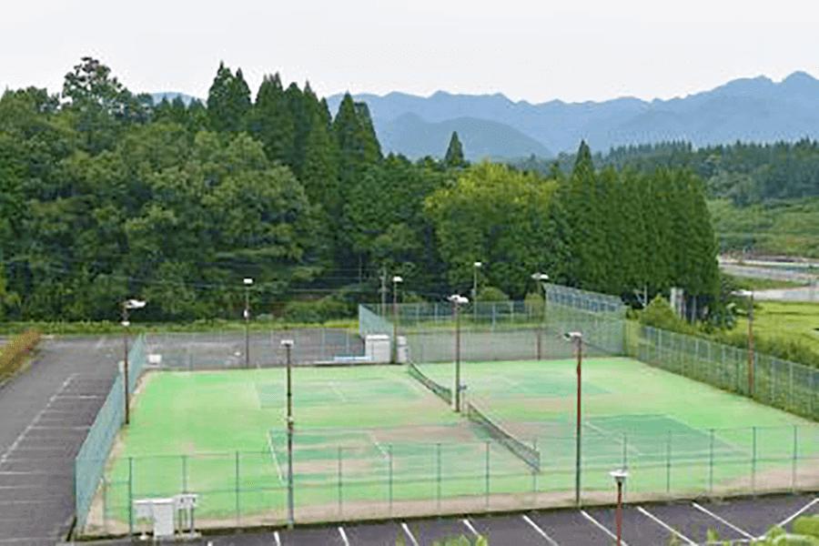 豊後大野市・大野総合運動公園・テニスコート