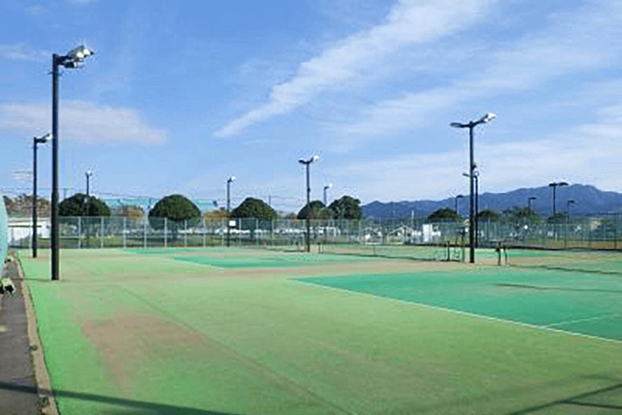 豊後大野市・サン・スポーツランドみえ・テニスコート